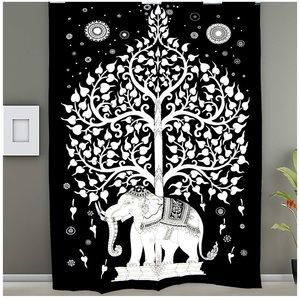Other - Black and White Tapestry